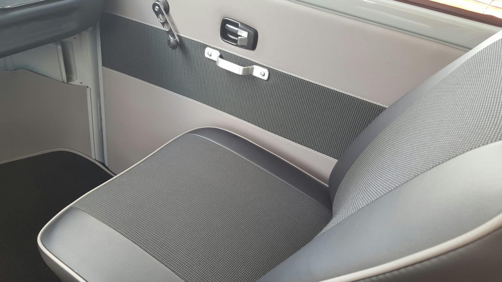 Neue Sitzpolster